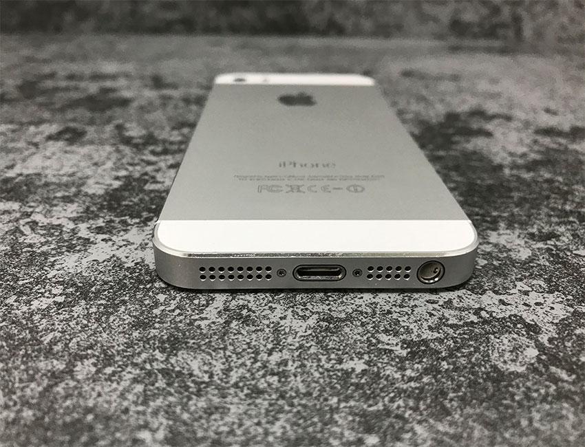 iphone 5s 32gb silver b u a 5 - IPhone 5S 32Gb Silver б/у A-