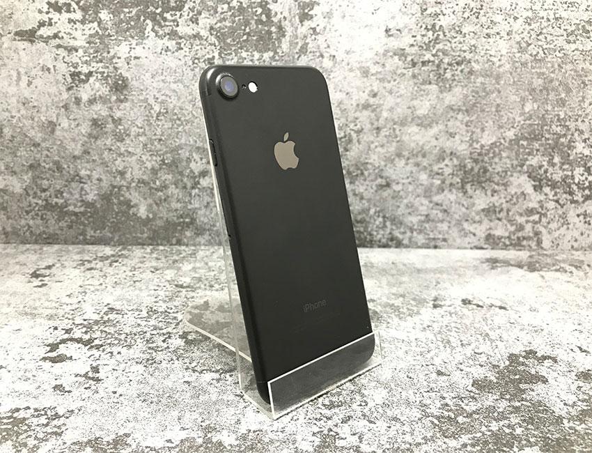 iphone 7 128gb matte black b u a  - IPhone 7 128Gb Matte Black б/у A-
