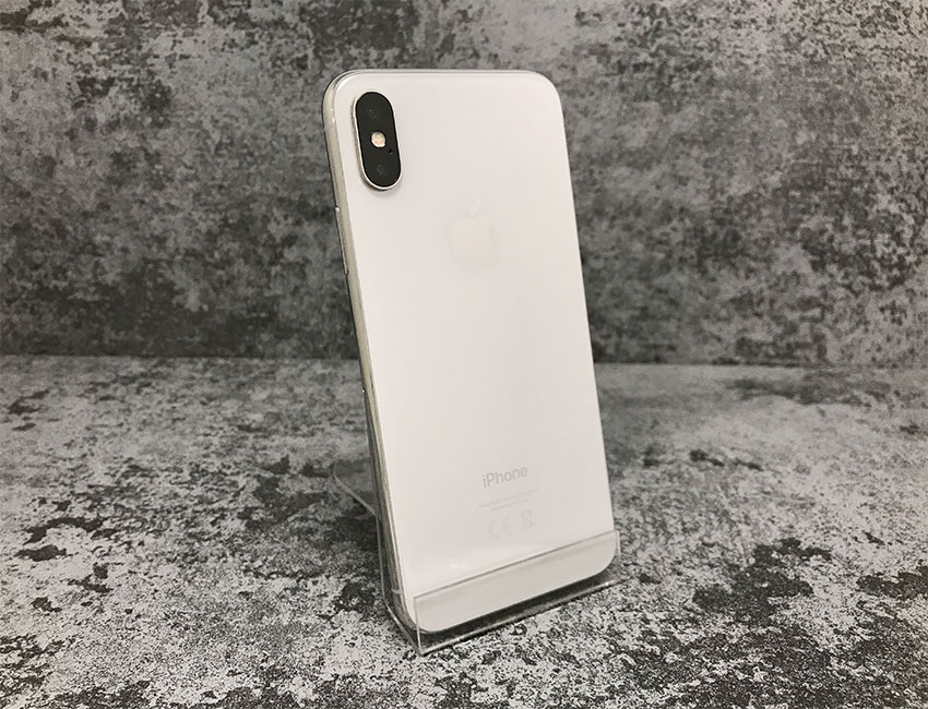 iphone x 256gb silver b u a  - IPhone X 256Gb Silver б/у A-