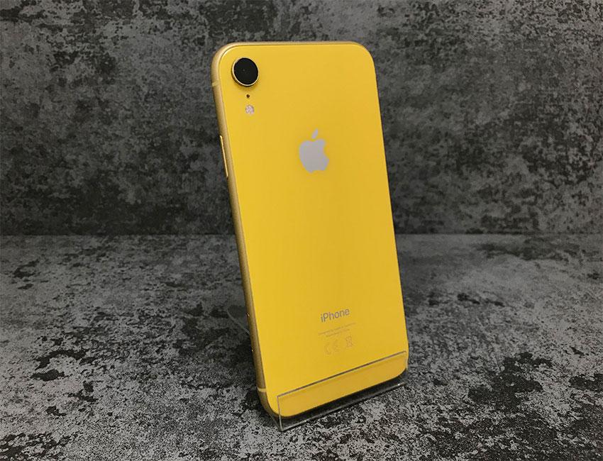 iphone xr 64gb yellow b u a  - IPhone XR 64Gb Yellow б/у A-