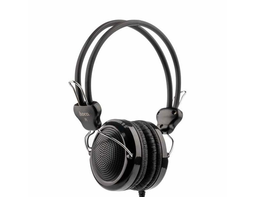 bez ymeny 21 - Навушники з мікрофоном Hoco W5 Manno Black